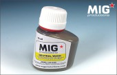 MIG P222 NEUTRAL WASH For vehicles in winter camo, light sand, red primer, light grey...