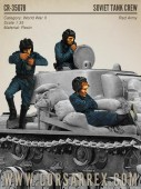 CR-35078 SOVIET TANK CREW / Red Army / 3 figures