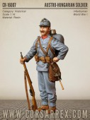CR-16007 AUSTRO-HUNGARIAN SOLDIER / Infantryman / World War I