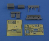 NS35060 Interior set for KrAZ-214 Roden model kit (Photoetched, resin parts, film)