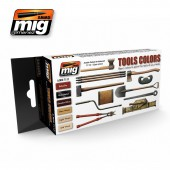 AMIG7112 TOOLS COLORS SET