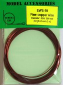 EWS-10 Fine copper wires 0.95 mm / 1.00 mm