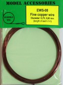 EWS-08 Fine copper wires 0.75 mm / 0.80 mm