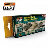 AMIG7116 WARGAME EARLY AND DAK GERMAN SET