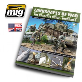 AMIG-EURO0004 LANDSCAPES OF WAR: THE GREATEST GUIDE - DIORAMAS VOL. 1 (English)