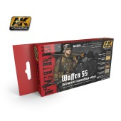 AK3050 WAFFEN SS FALL/WINTER CAMOUFLAGE COLOURS