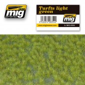 AMIG8354 TURFS LIGHT GREEN