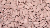 23024 Bricks (RF) medium brick-red