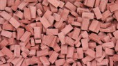 23029 Bricks (RF) dark brick-red