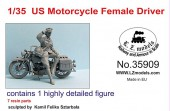 LZ35909 US Motorcycle Female Driver