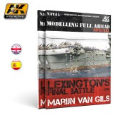 AK 667 MODELLING FULL AHEAD SPECIAL 1/ LEXINGTON´S FINAL BATTLE (English)