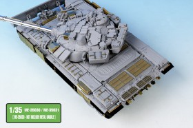 ME-35030 Russian MBT T-90 Dozer Detail up set w/Side skirts for MENG