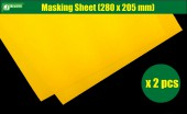 PPA6016 Masking Sheet (205 x 280 mm x 2pcs)