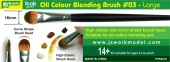 PPA6019 Oil Colour Blending Brush #03 - Large