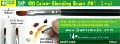PPA6017 Oil Colour Blending Brush #01 - Small