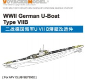 VN35001 1/350 WWII German U-Boat Type VII B (For AFV Club SE73502)