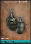 EMA-35007 Russian grenades. F-1 and RGD