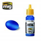 AMIG0196 WARHEAD METALLIC BLUE