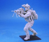 LF3D16002 US NAVY SEAL #2 Mk.48 MG Gunner