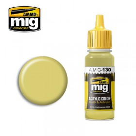 AMIG0130 FADED YELLOW