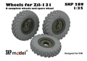 SKP 289 Wheels for ZIL-131 from ICM