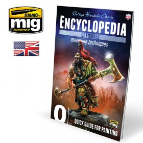 AMIG6220 ENCYCLOPEDIA OF FIGURES MODELLING TECHNIQUES VOL. 0 - QUICK GUIDE FOR PAINTING (English)