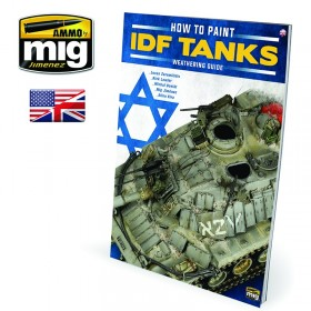AMIG6128 TWMS - HOW TO PAINT IDF TANKS - WEATHERING GUIDE (English)