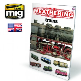 AMIG6142 The Weathering Special: TRAINS (English)
