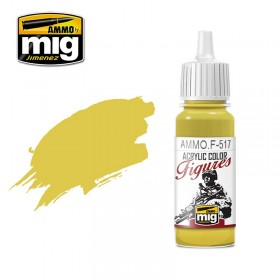 AMMOF517 PALE GOLD YELLOW