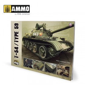 AMIG6032 T-54/TYPE 59 – VISUAL MODELERS GUIDE (English)