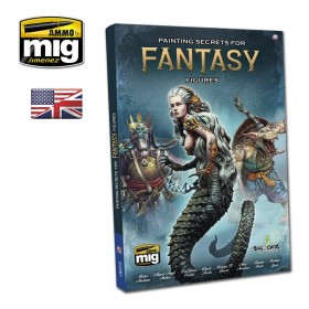AMIG6125 PAINTING SECRETS FOR FANTASY FIGURES (English)