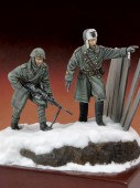 RM 589 Italian infantryman and officer (Russia 1944)