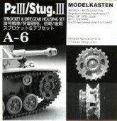 A-6 PzIII/Stug.IIISprocket and Diff.Gear Housing set