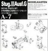 A-7 Stug.III Ausf.G detail parts set