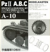 A-10 Pz II A,B,C Sprocket&Idler set