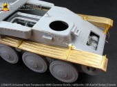 L35A015 1/35 Universal Track Fenders for WW II German Sd.Kfz.140/Sd.Kfz.138 Ausf.M Series Chassis