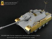 BPL35008 1/35 WW II German Jagdpanther Late Production Premium Edition(Commander Version Convertible)
