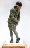 BH16  Brit, female soldier, ATS, WW2
