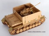 E35-004 WWII German Flakpanzer IV Mobelwagen For TAMIYA 35237