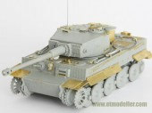 E72-003 WWII German TIGER I Late Production For DRAGON Kit