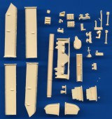 SPD229 T-64A m72 rebuild hull with extra glacis armor update set