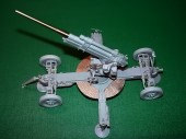 B35043 Soviet 76mm 52-K AA gun, Full Resin kit (Ствол-смола)