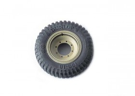BK-018 Spare wheel for Sd.Kfz. 251 and Sd.Kfz. 11 (Dunlop Tire)