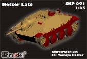 SKP 091 CONVERSION SET FOR TAMIYA HETZER