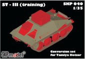 SKP 040 ST-III (training) CONVERSION SET FOR TAMIYA HETZER