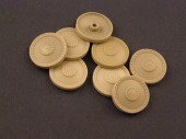RE35-003 Burn out Wheels for Pz38/Marder III/Hetzer