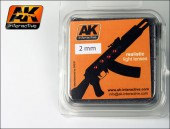 AK 207 RED 2mm 4 Pieces