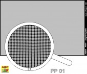 PP01 Engrave plate (88 x 57mm) - pattern 01