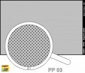 PP03 Engrave plate (88 x 57mm) - pattern 03