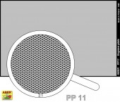 PP11 Engrave plate (88 x 57mm) - pattern 11
